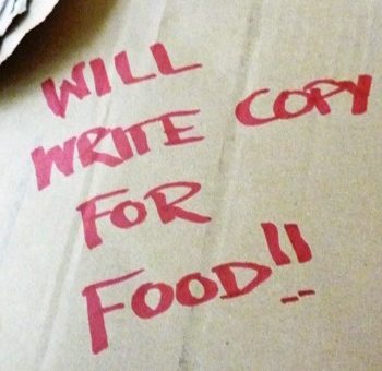 Will write copy for food!!
