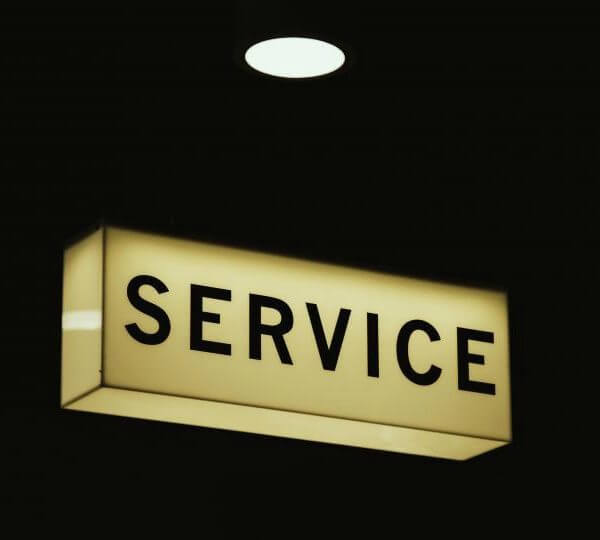 customer service - unashamedly creative