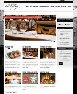 The East Village Hotel Website Build
