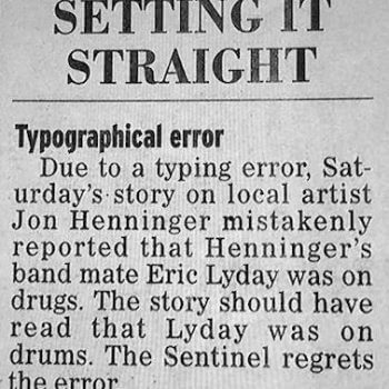 Proof reading matters