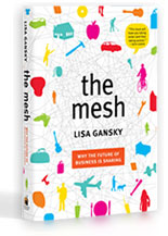 the mesh book by lisa gansky