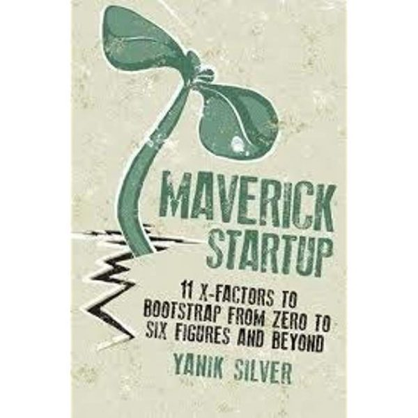 The book cover for the book Maverick Startup