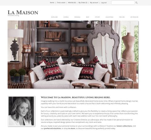 La Maison Sydney web copy project