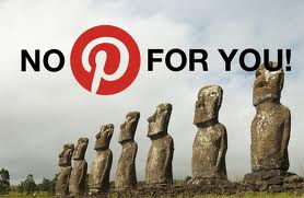 No PInterest for you!