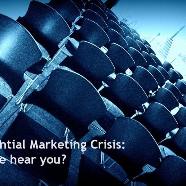 The existential marketing crisis: Can anyone hear you?