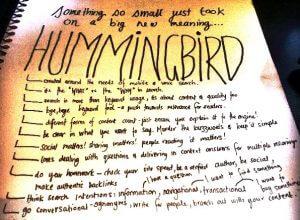 seo under hummingbird
