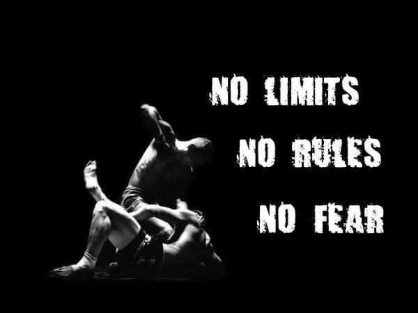 No Limits, No Rules, No Fear
