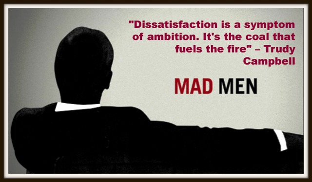 mad men on business ambition
