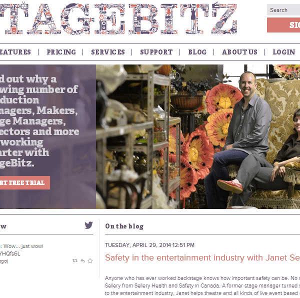 stagebitz SEO copywriting and website review