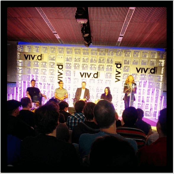 power up your games startup panel for vivid sydney