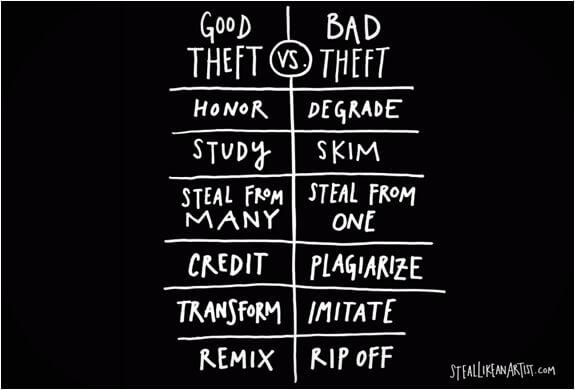 Artists be Like Steal-like-an-artist-austin
