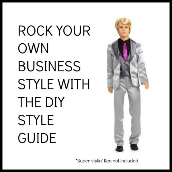 Rock your own business style with the DIY style guide
