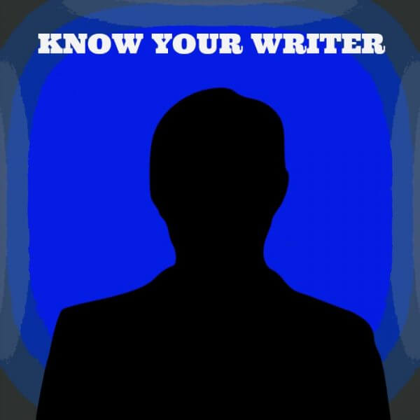 know your writer