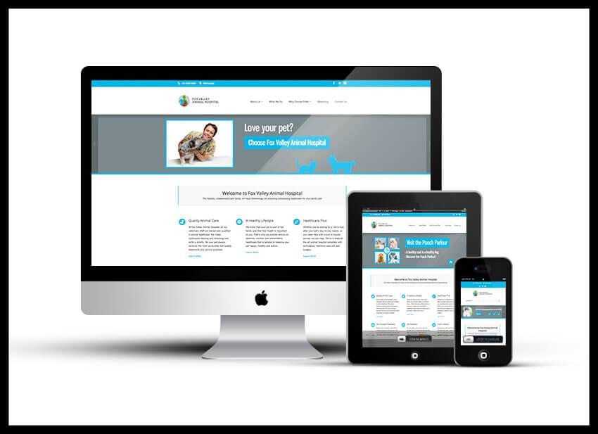 Portfolio - fox valley animal hospital - website copy