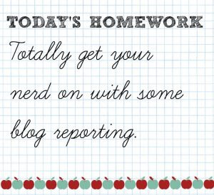 blog reporting