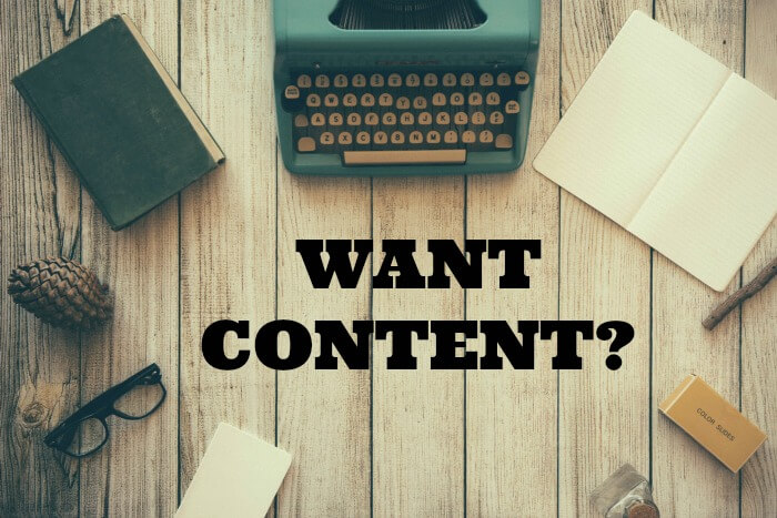 Are you a content marketing agency in need of content?