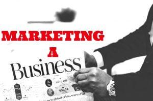 marketing a business - olu eletu