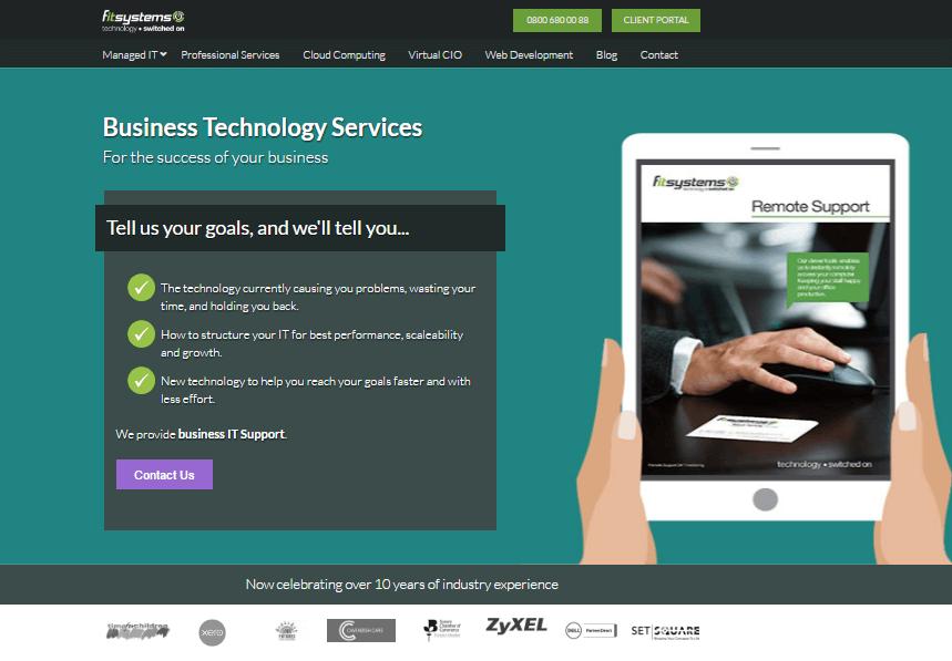 freelance copywriting for UK IT company - unashamedly creative