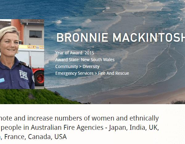 social media consultant to bronnie mackintosh