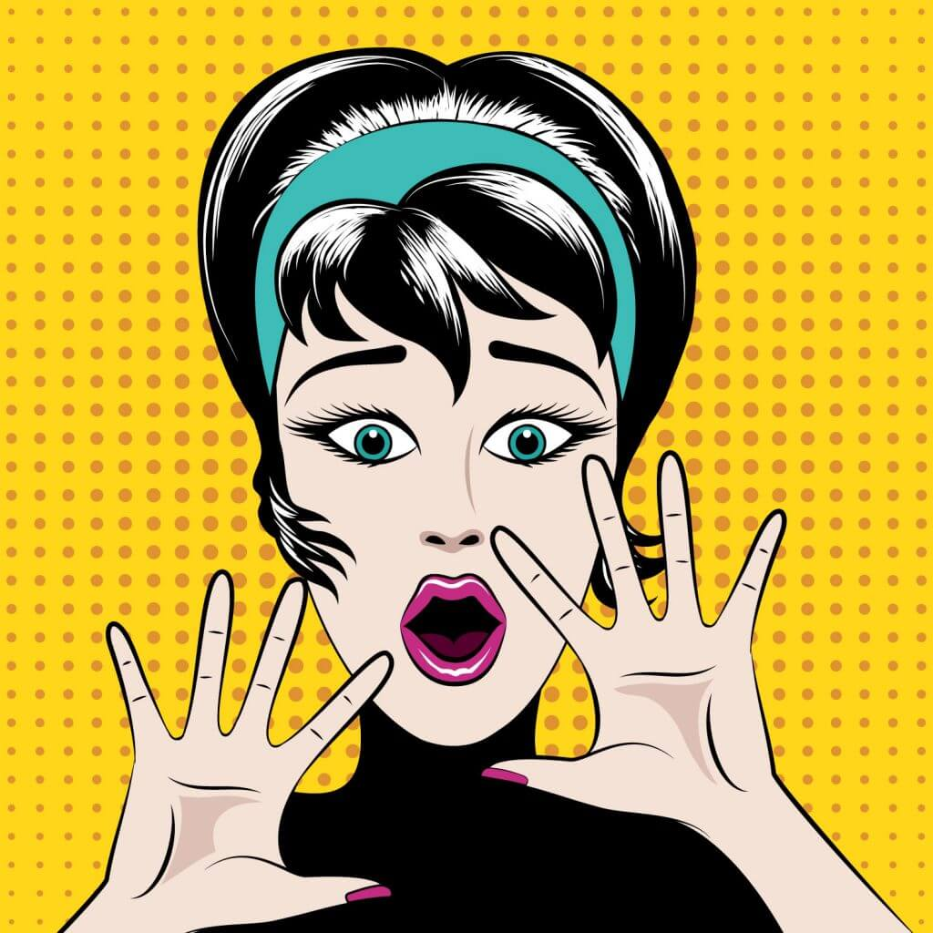 Woman with Jazz Hands - You don't need Jazz hands to succeed